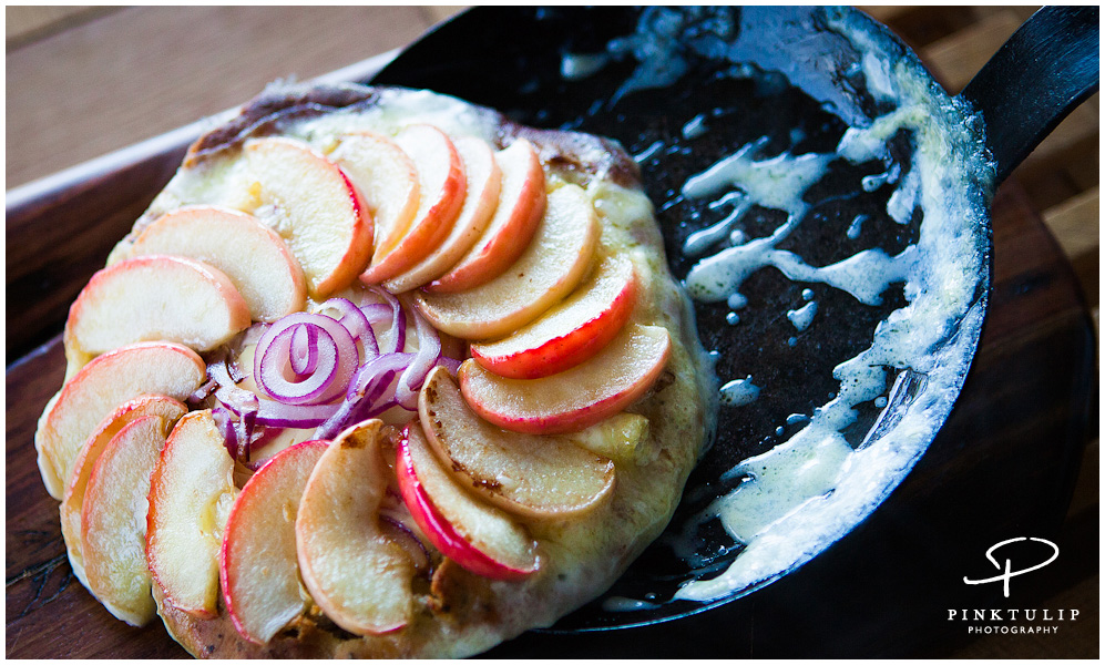 Apple & Red Onion Tatin